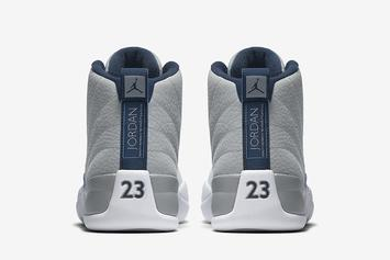 "Official Images Of The New ""UNC"" Air Jordan 12 Revealed"