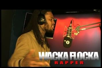 "Waka Flocka ""Fire In The Booth"" Freestyle"