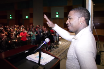 """Lil B Delivers """"Very Rare"""" Lecture At University Of Nevada-Reno"""
