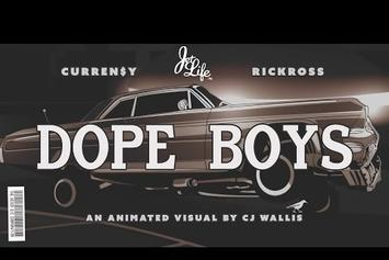 "Curren$y Feat. Rick Ross ""Dope Boys"" Video"