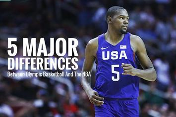 5 Major Differences Between Olympic Basketball And The NBA