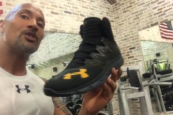 "Dwayne ""The Rock"" Johnson Introduces His First Under Armour Signature Sneaker"