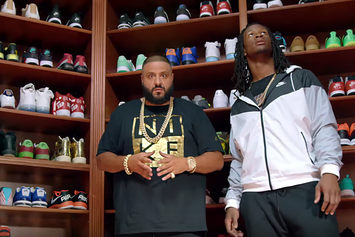 DJ Khaled Chops It Up With Todd Gurley In Nike x Champs Sports Ad