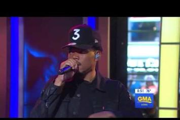 """Chance The Rapper Performs """"Summer Friends"""" On """"Good Morning America"""""""