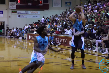 Zach LaVine Violently Drops A Defender At The Seattle Pro-Am