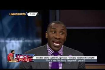 Shannon Sharpe Passionately Defends Colin Kaepernick's Protest