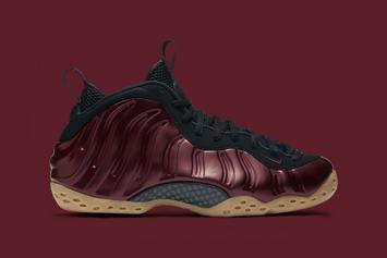 """Release Reminder: """"Night Maroon"""" Nike Air Foamposite One Releases Tomorrow"""