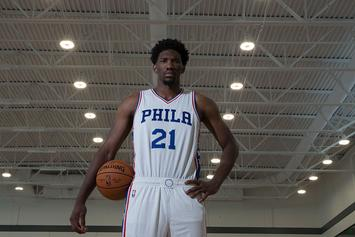 "Joel Embiid Wants To Be Introduced As Joel ""The Process"" Embiid"