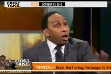 Stephen A Smith Loses It When Max Kellerman Says Blake Griffin Is Better Than Carmelo