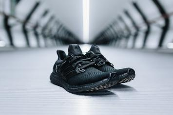 """Triple Black"" Adidas Ultra Boost Will Release In The U.S. In December"