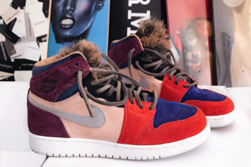 "This ""Viotech"" Air Jordan 1 Is A One Of A Kind"