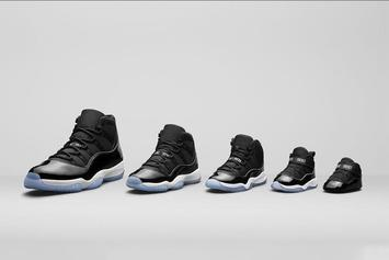 """Space Jam"" Air Jordan 11 Will Be Releasing In Sized For The Whole Family"