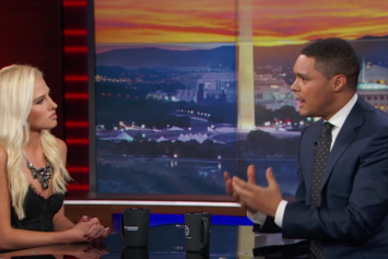 Trevor Noah Sons Tomi Lahren On The Daily Show