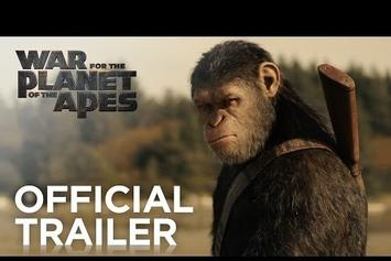 """Watch The Intense First Full Trailer For """"War For The Planet Of The Apes"""""""