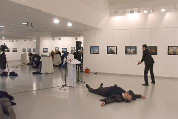 Russian Ambassador To Turkey Assassinated At Art Exhibit In Ankara