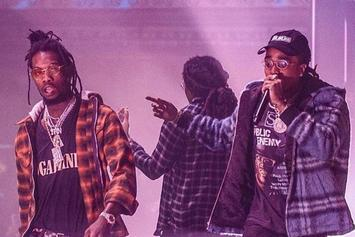 """Migos Perform """"Bad & Boujee"""" In Nigeria, Crowd Goes Insane"""