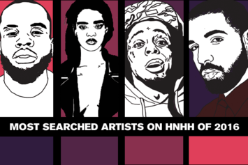 Most Searched Artists On HNHH Of 2016