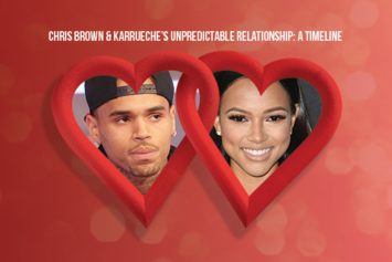Chris Brown & Karrueche's Unpredictable Relationship: A Timeline