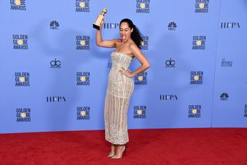 Tracee Ellis Ross Is First Black Woman To Win Golden Globe For Best Actress In TV Comedy Since 1984