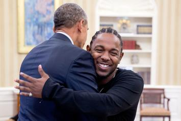 "Kendrick Lamar To Barack Obama: ""We Really Gonna Miss You Champ"""