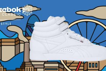 Reebok Classic x Rimo Reimagine Cultural Capitals For 35th Anniversary Of Reebok Freestyle