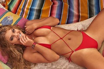 Watch Leo DiCaprio's Girlfriend's Incredible SI Swimsuit Video (NSFW)