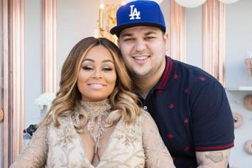 Rob Kardashian Shares 1-Year Anniversary Video, Blac Chyna Shows Off Nipples On IG