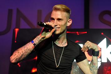 Machine Gun Kelly Hits Fashion Runway For John Varvatos