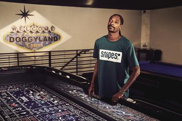 Snoop Dogg Delivers Inspirational Messages For German Retailer SNIPES