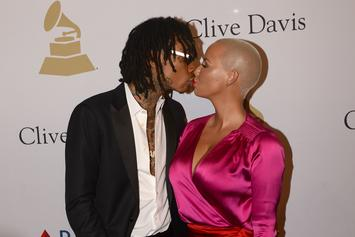 Wiz Khalifa & Amber Rose Were Acting Like A Couple At The Pre-Grammy Gala