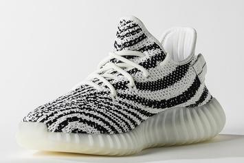 """""""Zebra"""" Adidas Yeezy Boost 350 V2 Will Be More Limited Than Past Release"""
