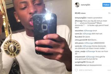 21 Savage Rips Rapper Formerly Known As 22 Savage