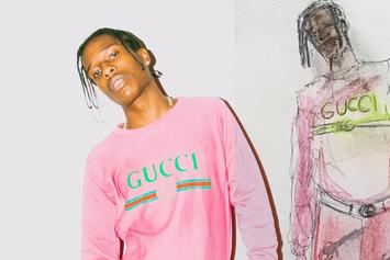 A$AP Rocky Shows Off Unreleased Supreme x Louis Vuitton Pants