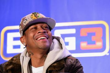 Allen Iverson Announces The Name Of His Big3 Team