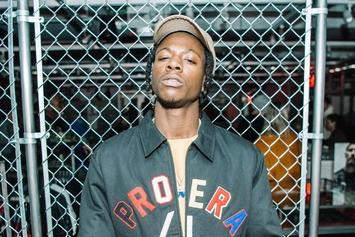 """Watch Joey Bada$$ Spit A Ferocious Freestyle Over Future's """"Mask Off"""""""