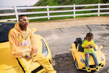 "Tyga Says 4-Year-Old King Cairo Enjoys ""Cars, Women & Jewelry"""