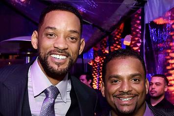 "Alfonso Ribeiro Posts ""Fresh Prince"" Cast Reunion Photo, Remembers Uncle Phil"