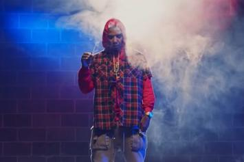 "Juelz Santana ""Up In The Studio Gettin' Blown Pt. 2 (Freestyle)"" Video"