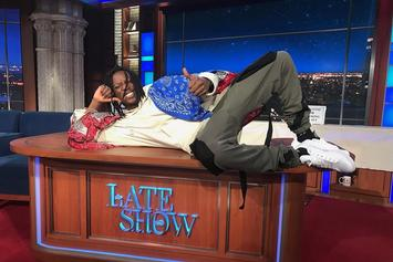 "Joey Bada$$ Performs ""Land Of The Free"" On The Late Show With Stephen Colbert"