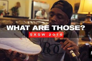 WHAT ARE THOSE? - Rappers Sneakers At SXSW 2016