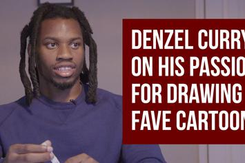 Denzel Curry On Passion For Drawing & Favorite Cartoons Of All Time