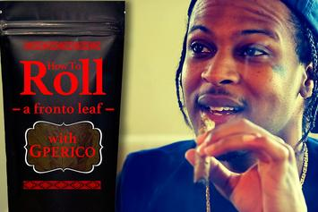 How To Roll A Fronto Leaf With G Perico