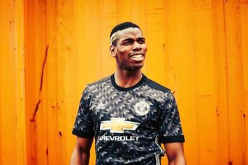 Desiigner Teams Up With Paul Pogba To Unveil Manchester United's New Uniforms