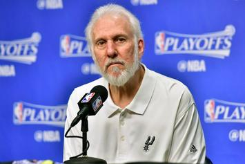 "Spurs Coach Gregg Popovich On President Trump: ""He's In A Game Show"""