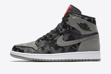 """This Air Jordan 1 """"Camo Pack"""" Is Reportedly In The Works"""