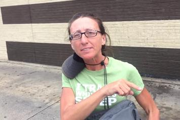 Exposed! Fake Homeless Woman Caught Scamming People
