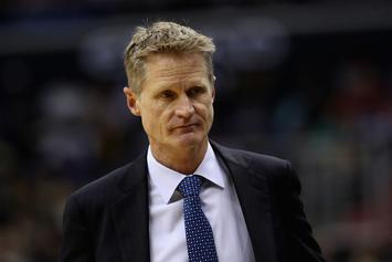 Warriors' Steve Kerr Unsure If He'll Coach In NBA Finals Due To Back Injury