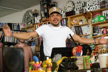Chance The Rapper Performs Surprise NPR Tiny Desk Concert