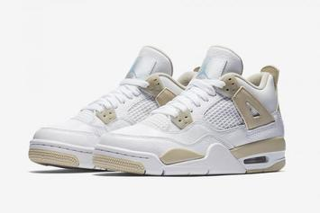 Linen Air Jordan 4s Now Scheduled To Release This Week