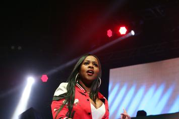"""Remy Ma Brings Out Fellow Female Emcees; Performs """"ShEther"""" at Summer Jam"""